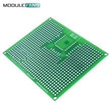 5pcs 7x9CM 70X90mm Prototype PCB Breadboard Board For ESP8266 ESP-12E ESP-12F ESP32 ESP-32S Double Side Prototype PCB