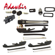 FOR VW JETTA MK1 MK2 DERBY outer door handle full set 191837206+ 191837205+ 193839205+ 193839206+ 165827571F