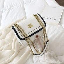 Youbroer Small Bag New Fashion Diamond Grid Chain Bag Joker Single Shoulder  Cross Bag Female