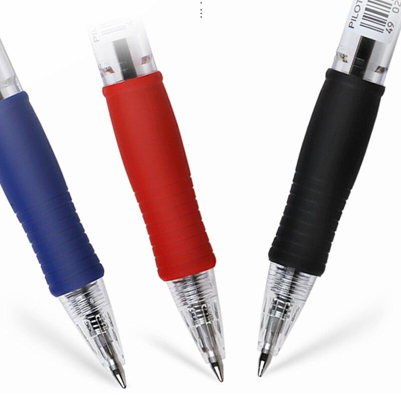 Image 3 - 9 Pieces Pilot BPGP 10R SUPER GRIP Ballpoint Pens Ball Point Pen transparent plastic 0.7mm Office School Suppliesball penpen japan0.7 mm pen -