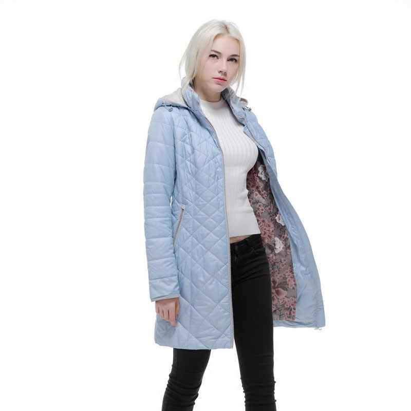 75a7b350612 Осенняя и зимняя куртка женская облегающее теплое пальто с капюшоном для  Европы и России Брендовые женские