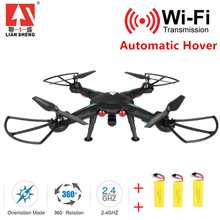 Professional Drones Quadcopter with 720P HD Camera Wifi 2.4GHz 4CH 6-Axis Rc Helicopter Drone Easy to Use Good Packaging