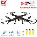 Profissional Drones Quadcopter com 720 P HD Camera Wifi 2.4 GHz 4CH 6-Axis Rc Zangão Helicóptero fácil de Usar Boa embalagem