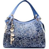 luxury handbags women bags designer peacock hollow out blue women leather handbags tassel crossbody bags for women tote bag big