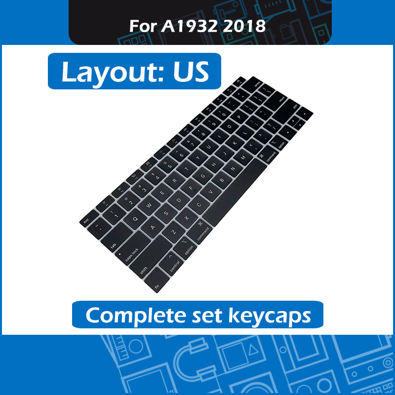 New A1932 Replacement Keycap key for font b Macbook b font Air Retina 13 A1932 Complete