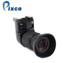 Pixco 1 2.0x Right Angle Finder For Canon For Sony For Pentax For Fujifilm 1x 2x right angle view machine