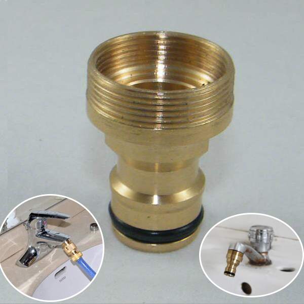 faucet quick Connector tap Watering Equipment solid Brass Adaptor ...