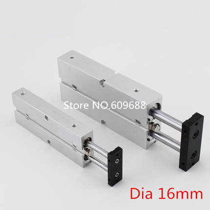 TN16-350 TN16-400 TN16-450 TN16-500 Magnetic Double-Axle pneumatic Cylinder/Double-rod cylinder