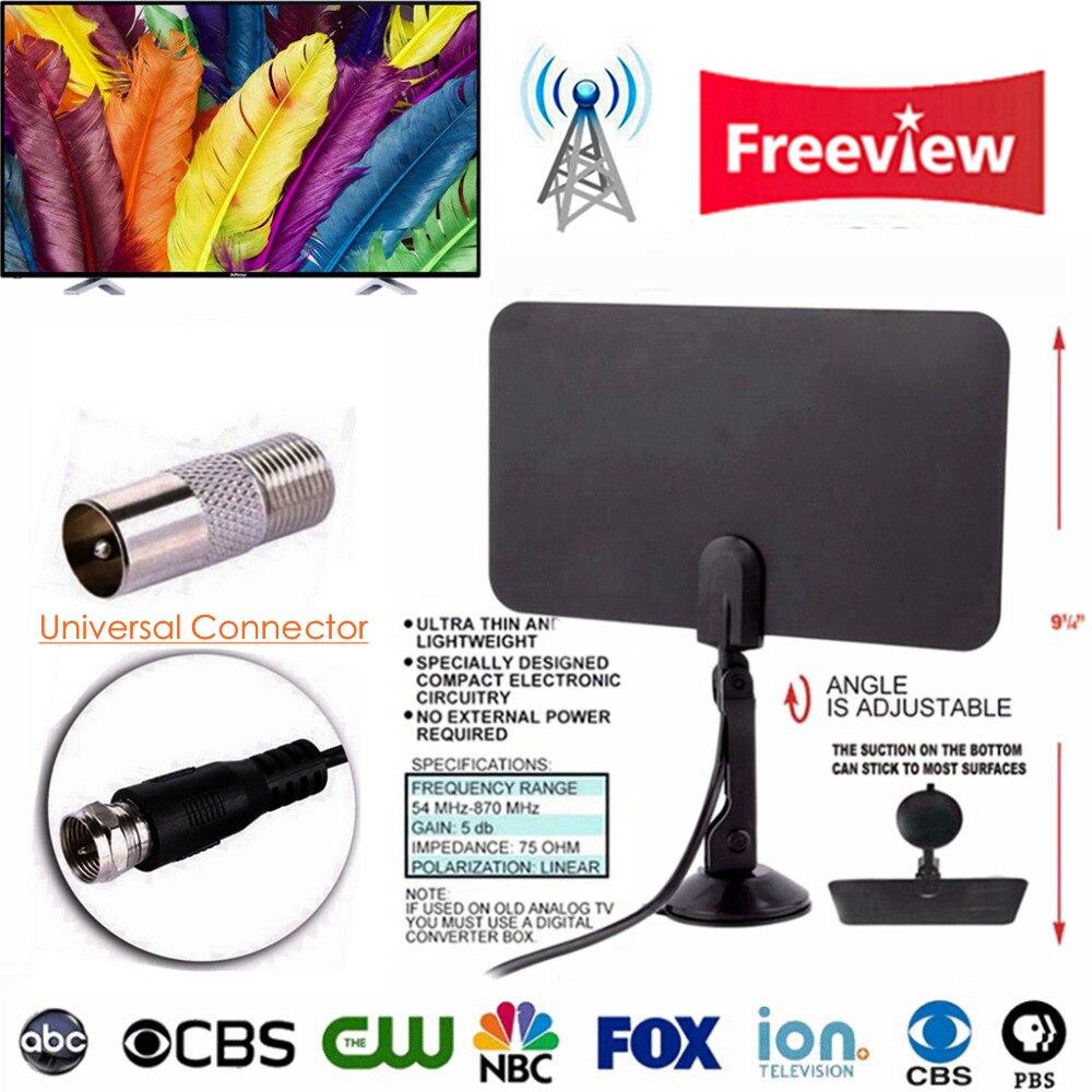Indoor HDTV Digital TV Surf Fuchs Antenne Freies TVFox TVSurf TV Radius Antena DVB-T DVB-T2 VHF UHF Antenas TV Kabel Signalempfänger