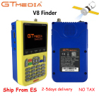 V8 Finder Digital Satellite Finder Meter HD LCD DVB-S2 SatFinder MPEG2 MPEG4 with 3000mA Battery Free V8 Finder FTA Sat finder