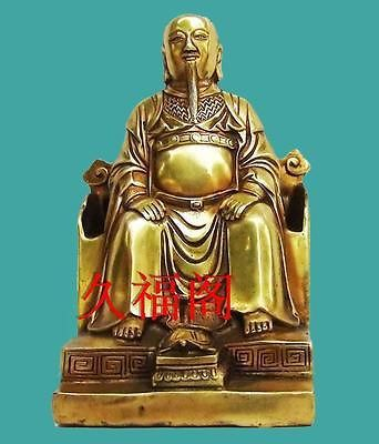 Original Copper Zhang San Feng Sculpture