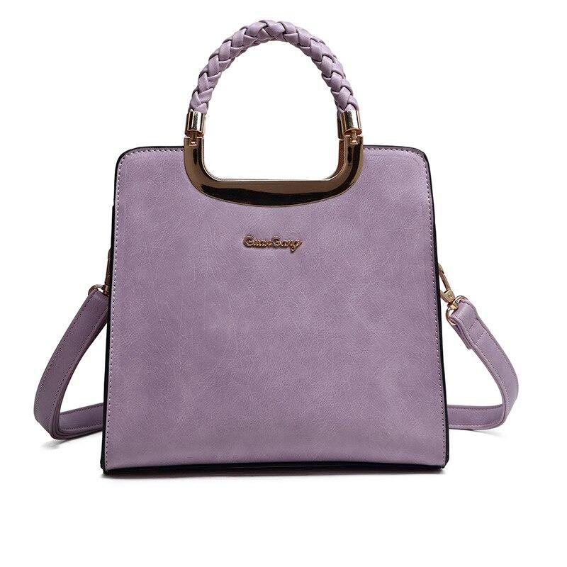 ФОТО Women Leather Handbags Vintage Fashion Shoulder Messenger Bags 2016 Hot Style Crossbody Totes
