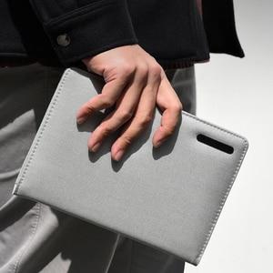 Image 4 - Chaud pour Xiaomi Mijia Smart Home Kaco Noble papier cahier PU cuir carte fente portefeuille livre pour bureau voyage daffaires avec cadeau