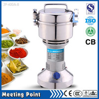 on sale 400g herbal household electric grinder mill small grain cereals powder machine ceramic salt grinders