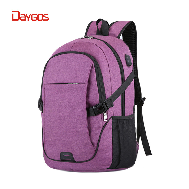 DAYGOS Women Laptop Backpack Men Usb Charging Oxford Computer Back Pack School Anti theft Backpack School Bag