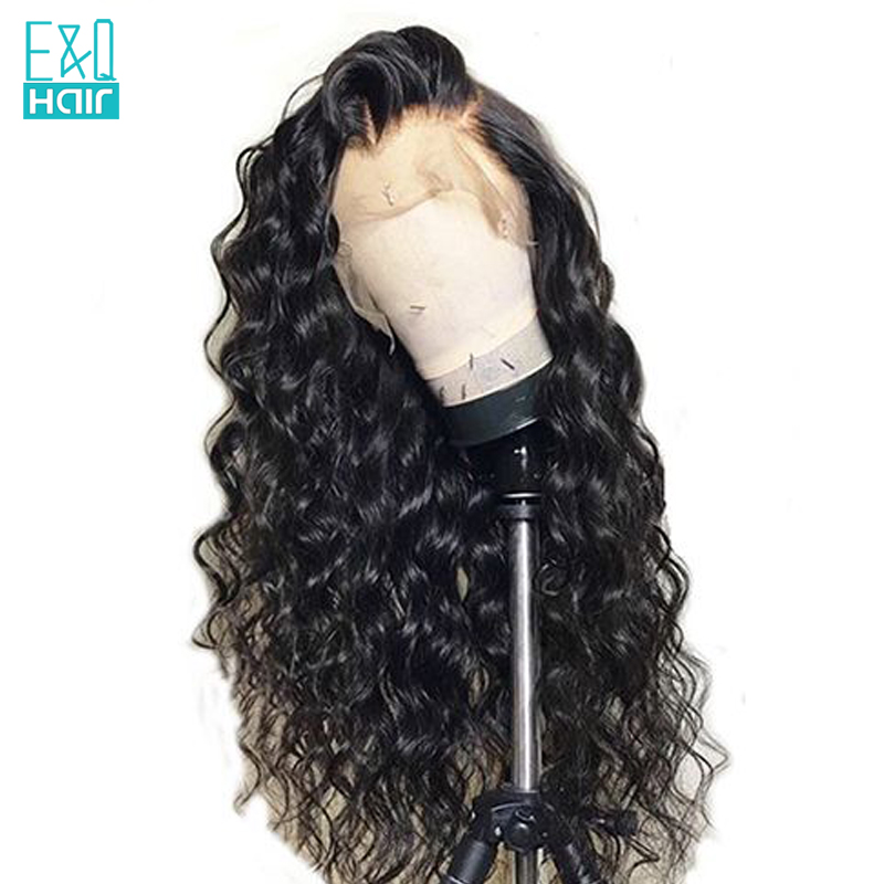 Loose Wave Lace Front Human Hair Wigs With Baby Hair 8 26inch Pre Plucked Hairline 130