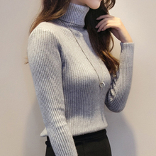2017 Cashmere Sweater Women Turtleneck Pullover Ladies Shirt Hot Sale Female Warm Tops Clothing female knitted sweater 1919