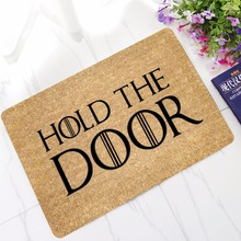 CAMMITEVER Hold the Door Floor Mats Bathroom Kitchen Carpets Children Doormats for Living Room Anti Slip Tapete Rugs