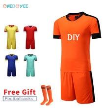 Onedoyee hombres Survetement fútbol Kit personalizado mujeres adolescentes fútbol  deportes uniformes Futbol entrenamiento trajes(China b786edc021163