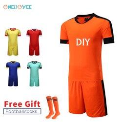 Onedoyee Men Survetement Football Jerseys Kit Customized Women Teens Soccer Jersey Sports Sets Uniforms Futbol Training Suits