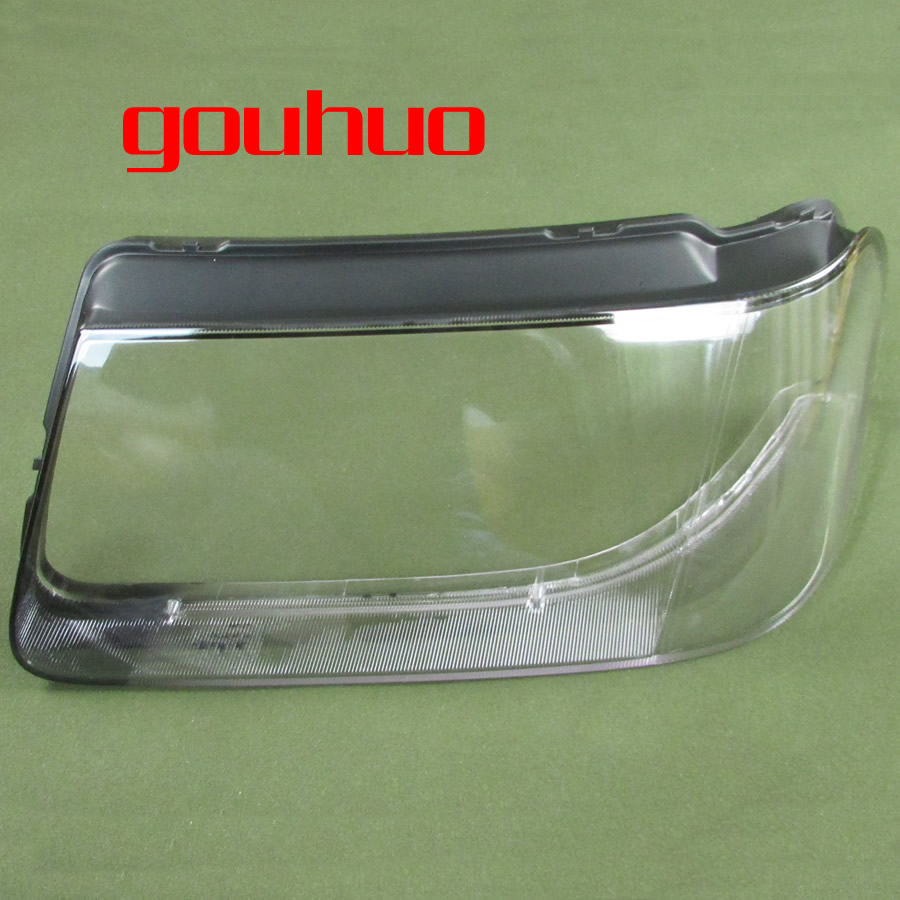 For vw Santana 3000 front headlight shell lamp shade High headlight shell hardening treatment 2pcs ...