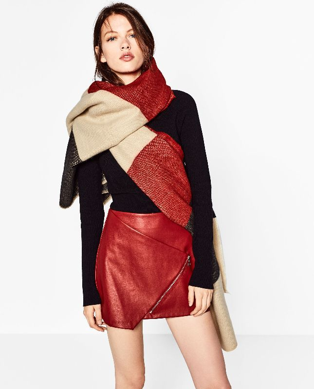 Za Brand Winter Scarf Women 2016 Oversize font b Tartan b font Plaid New Designer Unisex