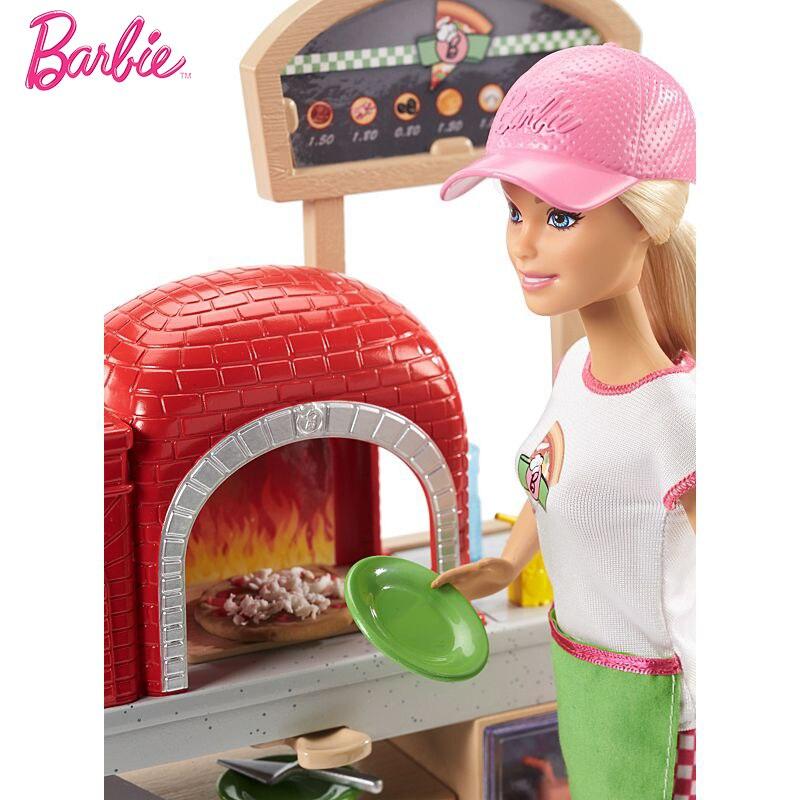 Neue Original Barbie Puppe Pizza, Der Spaß Puppen Die Girlbrinquedos Geschenk Boneca GirlsToys Baby Puppe Mädchen Spielzeug für Kinder Kinder-in Puppen aus Spielzeug und Hobbys bei  Gruppe 3