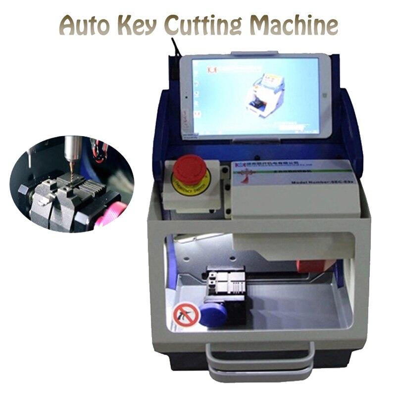 Полный автоматический ключ резки машина для изготовления ключей для автомобиля копировальный аппарат для ключей с программным обеспечени