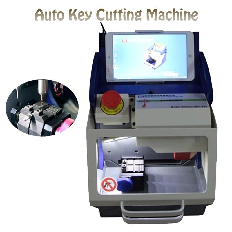 Full Automatic Key Cutting Machine Car Key Machine Key copy Machine with software SEC-E9z 238bs key cutting machine key copy machine double head key machine