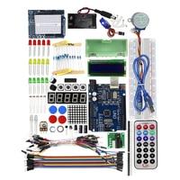 Starter Kit / Step Motor / Servo /1602 LCD / Breadboard/ Jumper Wire/ UNO R3 for arduino DIY KIT