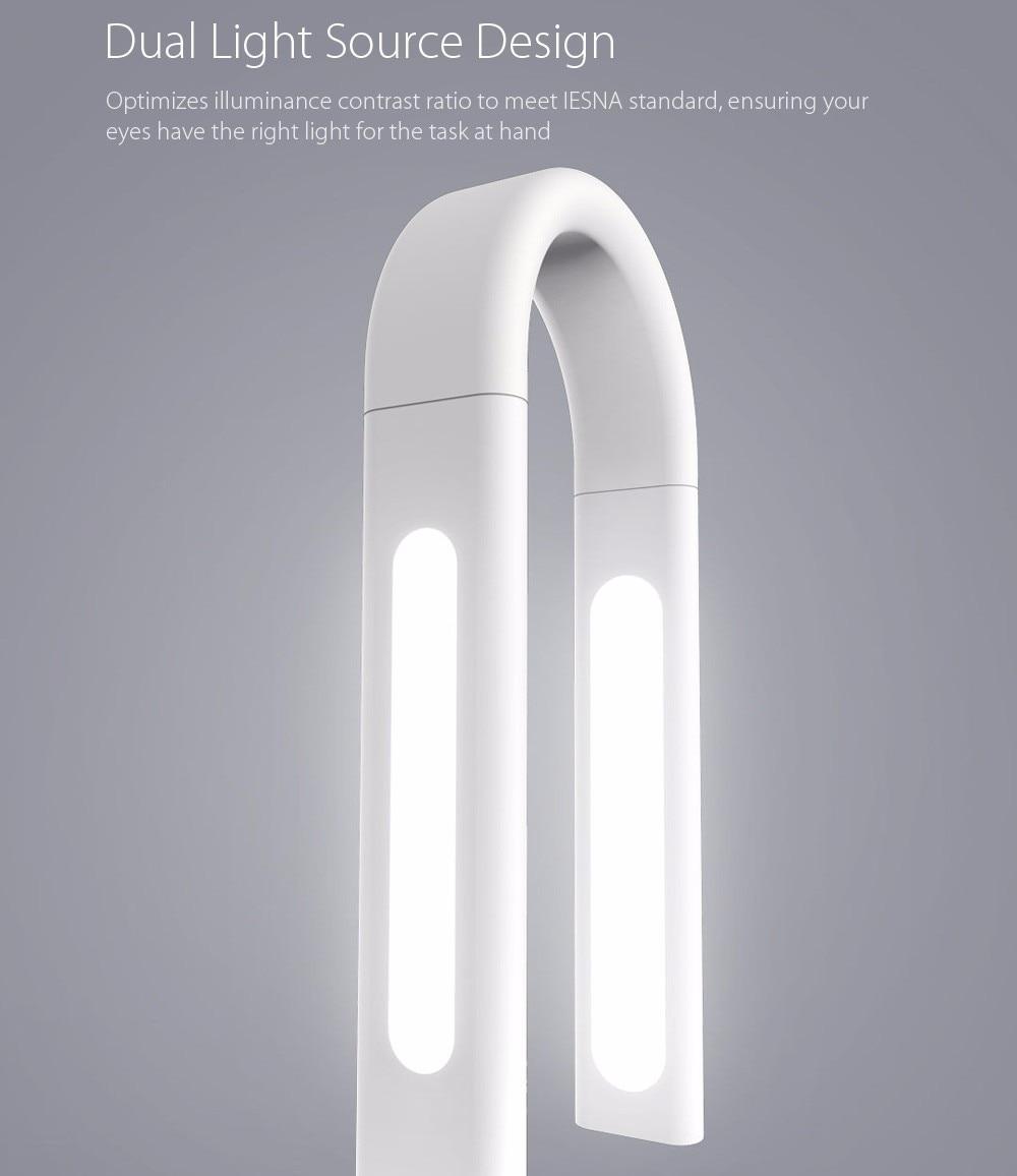 Original Xiaomi Mijia LED Lamp 2 Smart LED Light DeskLamp Desklight 4000K 10W Dual light Table Lamp IOS Android APP Control - 4
