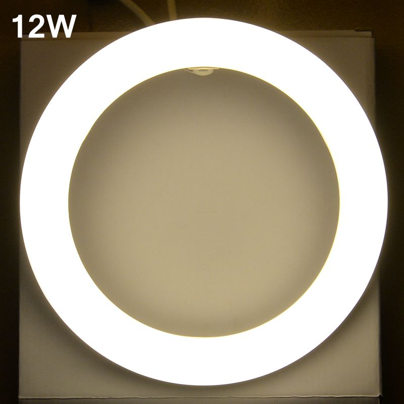 12W led Tube AC85-265V G10q SMD2835 T9 LED Circular Tube LED circle Ring lamp bulb light free shipping ce 11w g10q led ring light circle light bulb circular tube light replace 32w 40w fluorescent round tube