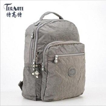 女性のバックパック女の子 Kipled ナイロンバックパックプレッピースタイルのバックパック Mochila Feminina 女性旅行通学大容量バッグ