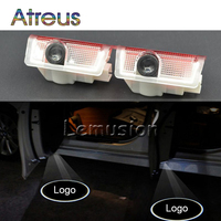 Atreus 2X LED Courtesy Lamp Car Door Welcome Light Projector For Mercedes A B C E