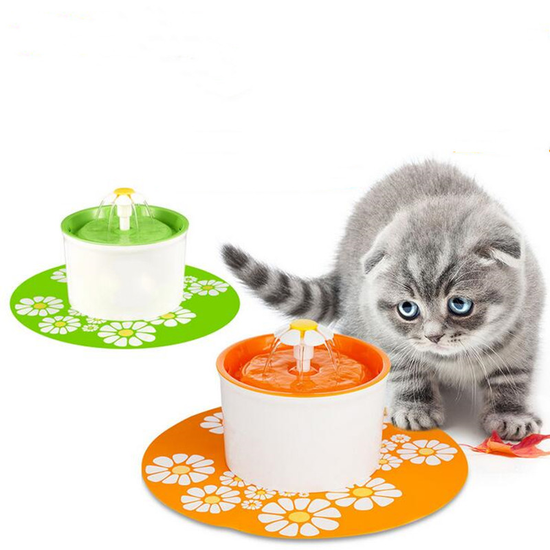 Automatic Cat Water Fountain For Pets Water Dispenser Large Spring Drinking Bowl Cat Automatic Feeder Drink