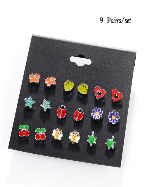 DANZE-20-Pairs-lot-Cute-Fruit-Animal-Stud-Earrings-Set-For-Children-Women-Frog-Fox-Star.jpg_640x640