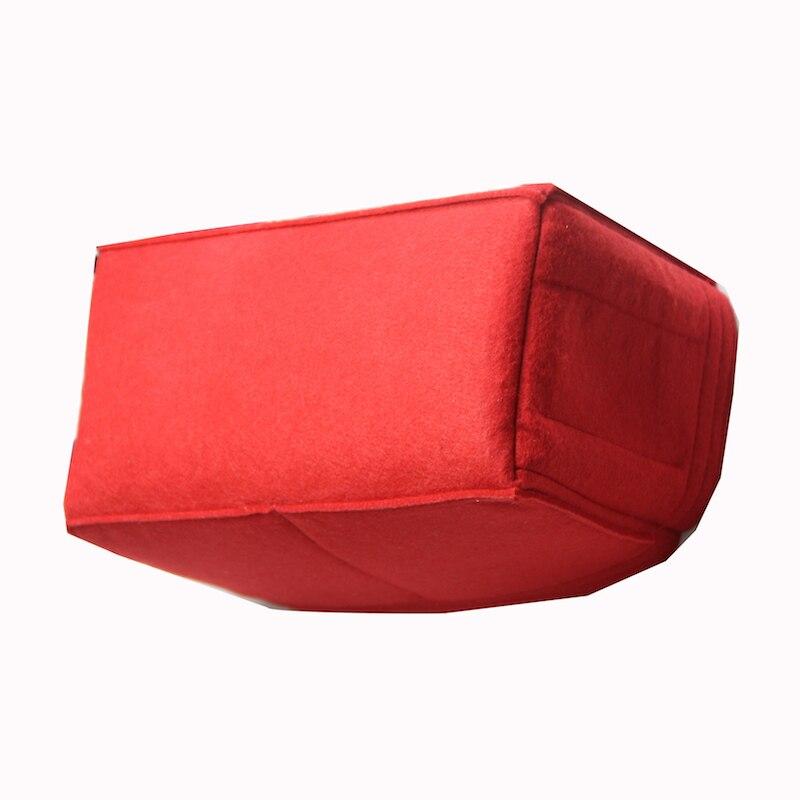 Купить с кэшбэком Fits Petit Noe Purse Organizer Insert - 3MM Premium Felt (Handmade/20 Colors)