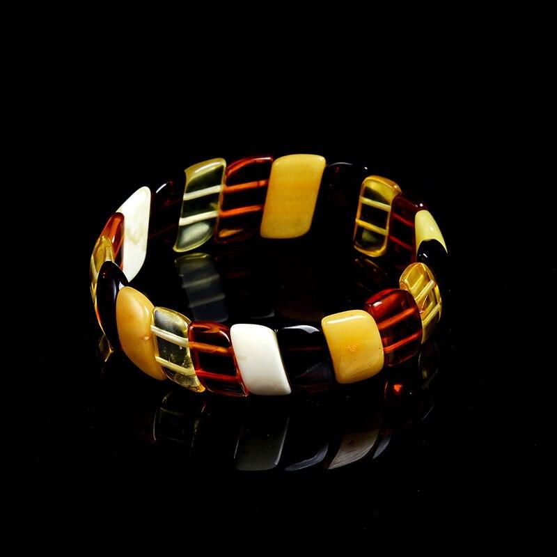 JIUDUO jewelry Genuine Natural Baltic Amber Honey Wax Cobalt Cooper Multi Bracelet Hand Row Russia Style подвески бижутерные honey jewelry подвеска черепаха