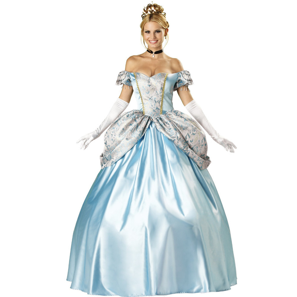 Brilliant Halloween Costumes For Women Adult Cinderella Costume Women Princess Cosplay Dress Costume Dress Home