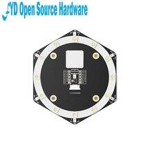 1Pcs Sipeed 6 + 1Mic Array Geluidsbron Lokalisatie Beamforming Spraakherkenning Microfoon Array