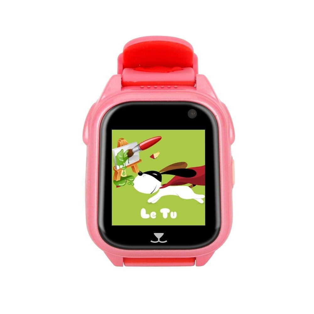 Pewant montre bébé intelligente avec caméra GPS SOS appel localisation dispositif Tracker sûr Anti-perte moniteur montre intelligente pour enfants enfants - 4