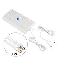 Mimo 4g 88dBI 3g 4G LTE Антенна мобильная антенна усилитель mimo панельная антенна 2 * SMA-male/TS9/CRC9 Соединитель с кабелем 700 ~ 2600 МГц