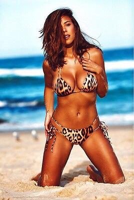 Hot Sexy Womens Print Leopard Bandage India Bikini Set Bandeau Triangle  Push-Up Padded Swimsuit Beachwear Swimwear