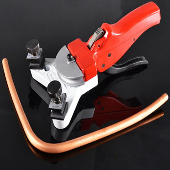 1pc Hand Operated Pipe Bender Air conditioning Aluminum Tube Manual Bending tool