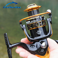 12+1 BB 5.2:1 Large Fishing Reel Metal Spool Spinning Reel Carp Carretilha Pesca Coil