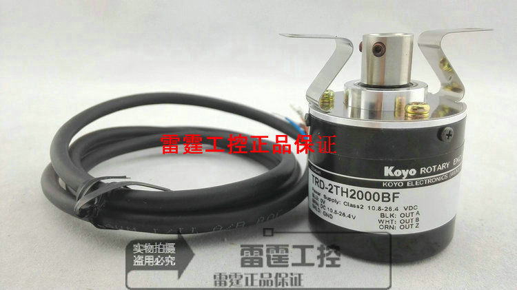 New original authentic Koyo KOYO photoelectric incremental hollow shaft rotary encoder TRD-2TH2000BF freeship koyo encoder trd j1000 rzw trd j1000rzw trd j series incremental rotary encoder 1 year warranty high performance