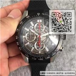 复刻泰格豪雅卡莱拉系列男表 高仿CAR2A1Z.FT6050手表☼