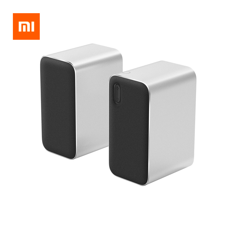 Original Xiaomi Bluetooth Computer Speakers 12W 2.4GHz Double Bass Basin Stereo Portable Aux DSP With Microphone LED IndicatorOriginal Xiaomi Bluetooth Computer Speakers 12W 2.4GHz Double Bass Basin Stereo Portable Aux DSP With Microphone LED Indicator