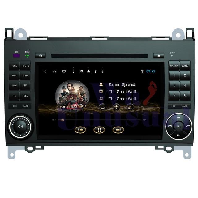 Wanhabituel-voiture de Navigation 32 go Android 8.1 | Pour Benz classe A W169/2004 W245 2005 2006 2007 2008 2009 2010 2011 2012 3G, Wifi 3G