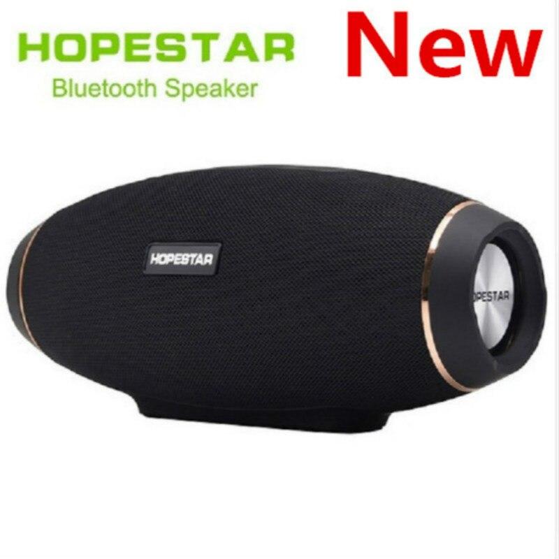 HOPESTAR H20 sans fil portable colonne Bluetooth 4.2 haut-parleur 30 W étanche extérieur effet de basse avec batterie externe USB AUX Mobile